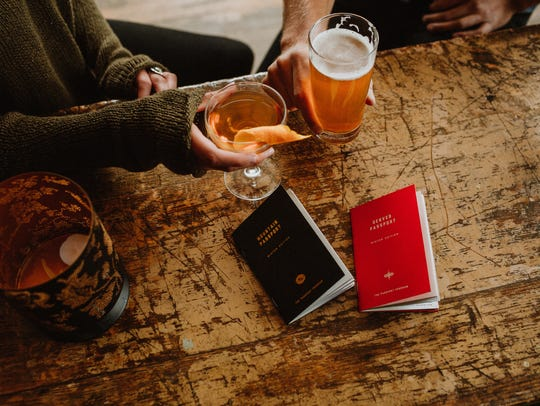 The Passport Program offers two-for-one drink specials