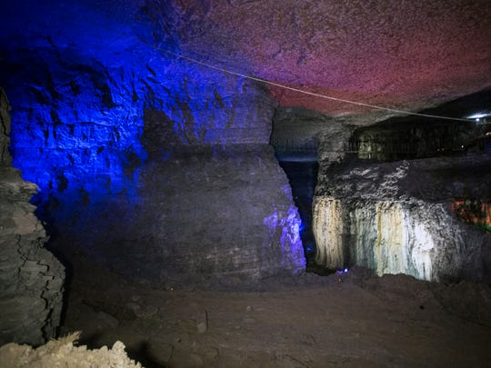 The Louisville Mega Cavern boasts the world's only
