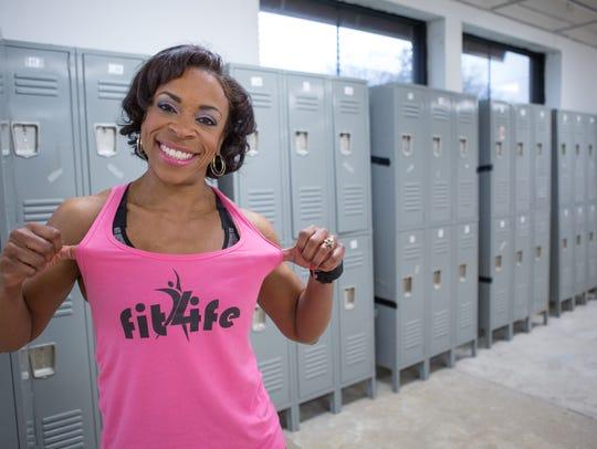 Detroit entrepreneur Felicia Maxwell of Fit4Life gym