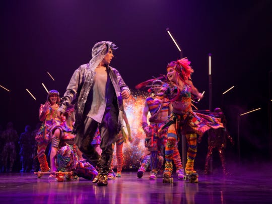 """Cirque Du Soleil's """"Volta"""" show. Costumes by Zaldy Goco."""