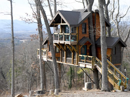 hgtv treehouse stakes claim to buncombe novelty lodging market