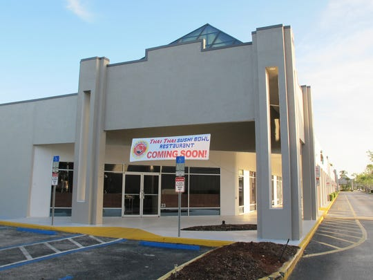 Thai Thai Sushi Bowl is coming soon to the former spot of Henning's Chicago Kitchen and Country House Restaurant in the corner of the recently renovated Naples Outlet Center on Collier Boulevard just south of Manatee Road on the way to Marco Island.