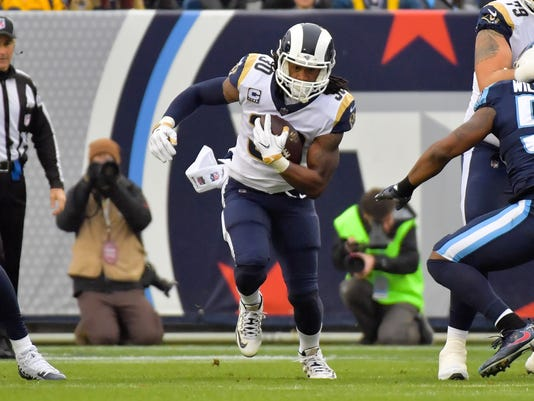 USP NFL: LOS ANGELES RAMS AT TENNESSEE TITANS S FBN TEN LAR USA TN