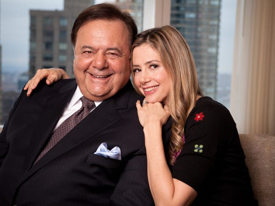 Paul Sorvino with daughter Mira Sorvino in 2010.