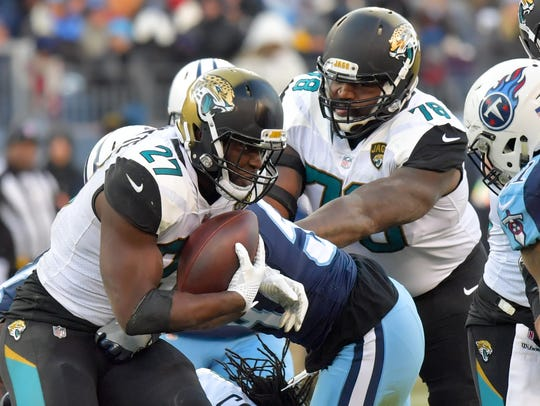 The Buffalo defense will have to contain Jaguars rookie