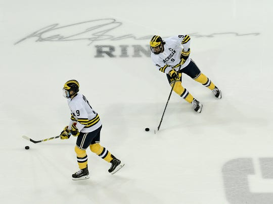 Ice hockey is one of the four sports the University of Michigan has paused due to coronavirus concerns.