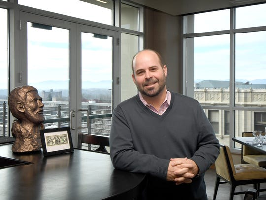 Alex Fraga, vice president of FIRC group, Inc., poses