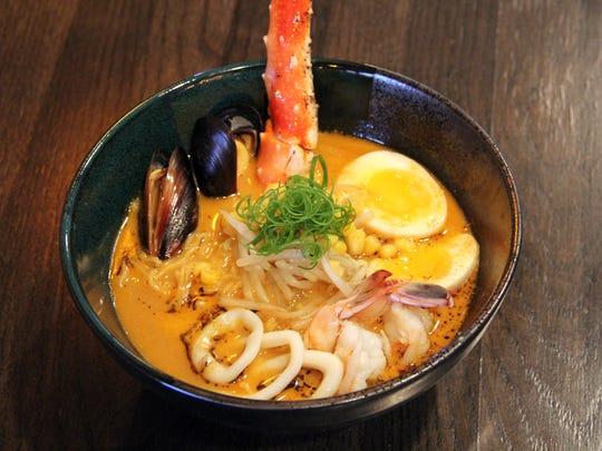Hokkaido Ramen from Namba Ramen & Sushi.