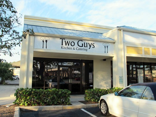 Two Guys Kitchen & Catering is targeted to open in January 2018 in River Reach Plaza off Airport-Pulling Road in East Naples.