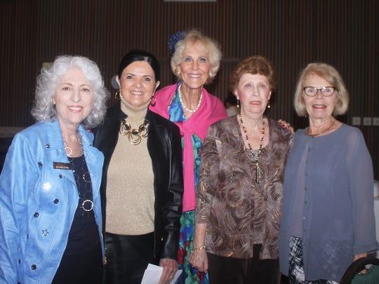 Carol Rosasco, Laverne Leahy, Susie Walsh, Judy Stavola