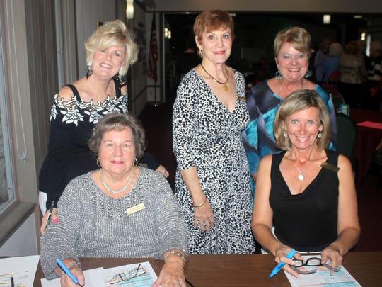 Sharon Cook, Eileen Carlsen, Pam Clune, Lisa Gandy,