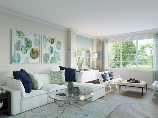 The Doheny is one of three model homes open for viewing at Fronterra.