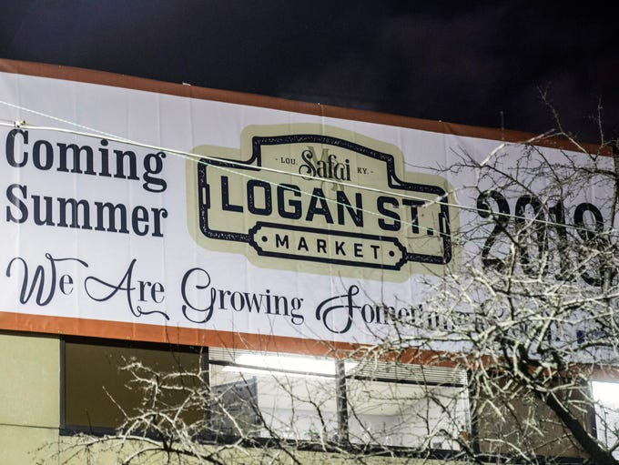 The Logan Street Market will be located in the old