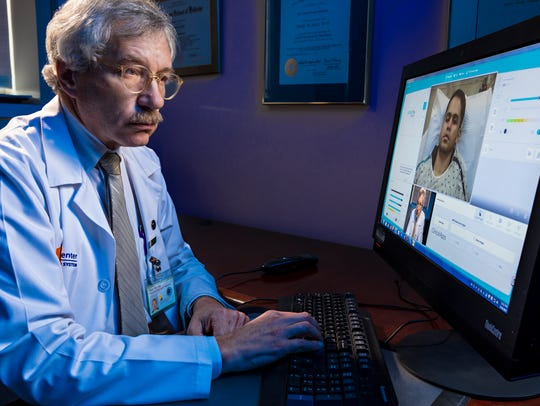"""""""Gary Belt, M.D., a veteran stroke neurologist with"""