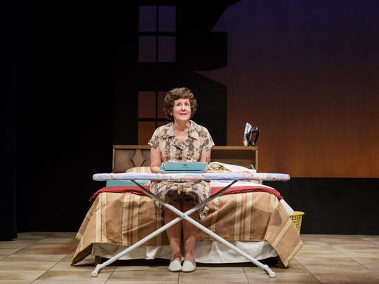 Pam Sherman in a lovable and plucky portrayal of Erma Bombeck at Geva.