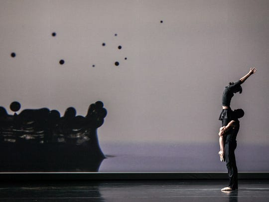 Jessica Lang Dance's formal performance will begin at 7:30 p.m. Friday in Escher Auditorium at the College of St. Benedict.