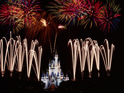 it would be crazy to visit disney world and not enter