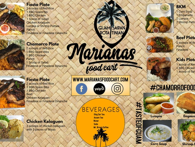 Marianas Food Truck serves island cuisine to the people