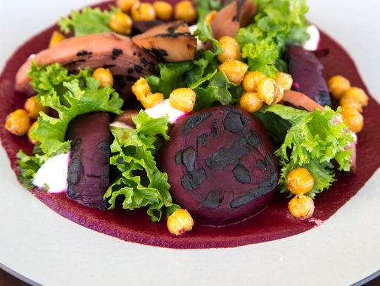 Barbecue beets, February 22, at Mowry & Cotton, The Phoenician, 6000 E. Camelback Road, Phoenix.