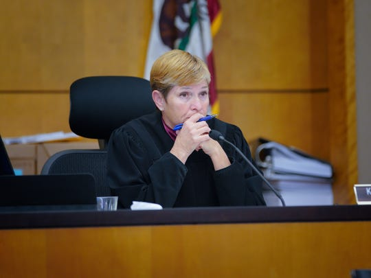 Judge Katherine Bacal in San Diego presides over the