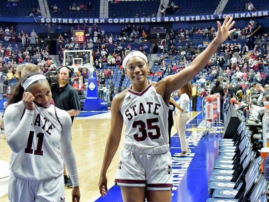 NCAA Womens Basketball: SEC Conference Tournament-Texas A&M vs Mississippi State
