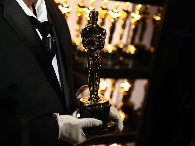 Go backstage at the 90th annual Academy Awards with