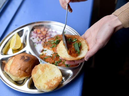 Get an entree and appetizer at Chai Pani during Asheville Restaurant Week for $15.