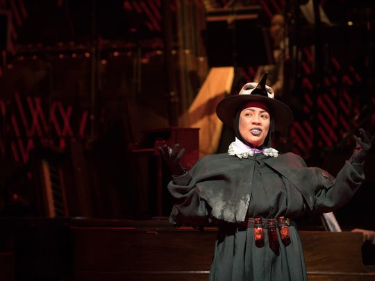 """Soprano Cecilia Davis is one of many local musicians taking part in the MacDowell Club of Milwaukee's farewell concert Sept. 22. This photo shows her in character in Skylight Music Theatre's production of """"The Tales of Hoffmann."""""""