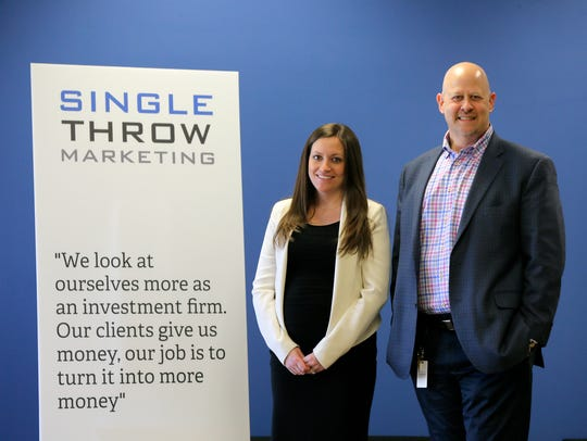 Jennifer Obsuth, COO, and Larry Bailin, CEO and founder,