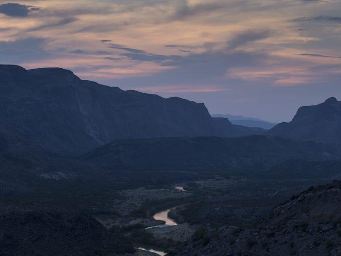 The Rio Grande near La Cuesta in Big Bend Ranch State
