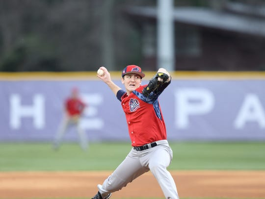North Plainfield's Sean Lubreski pitching for NJIT