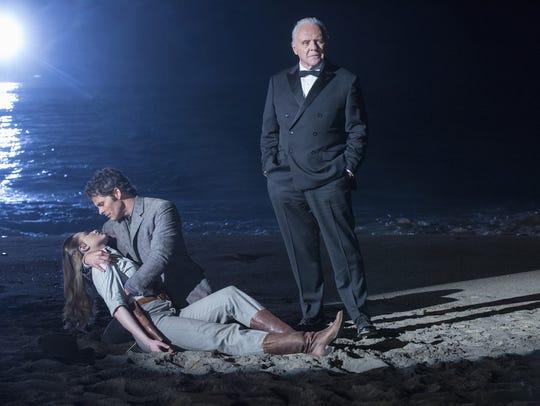 Evan Rachel Wood as Dolores, James Marsden as Teddy
