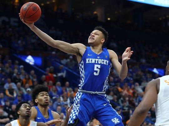 12. Clippers (42-40, via Pistons): F Kevin Knox, 6-9,