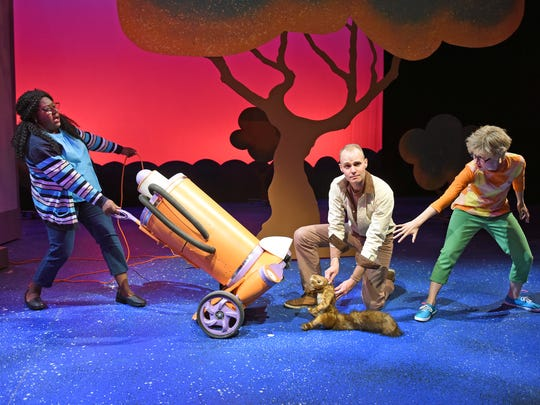 "In Childsplay's ""Flora and Ulysses,"" a near-tragic accident turns a squirrel into a superhero."