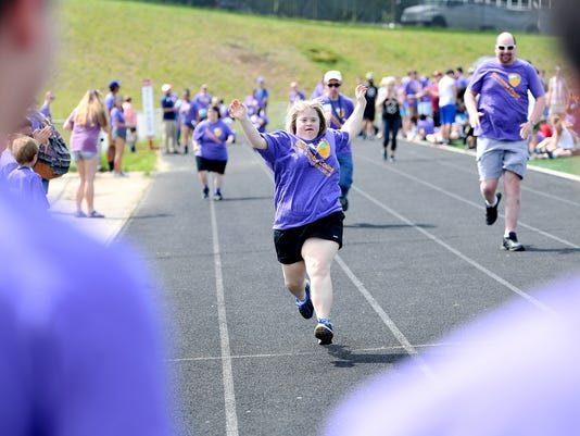 Frame Buncombe County Special Olympics Spring Games