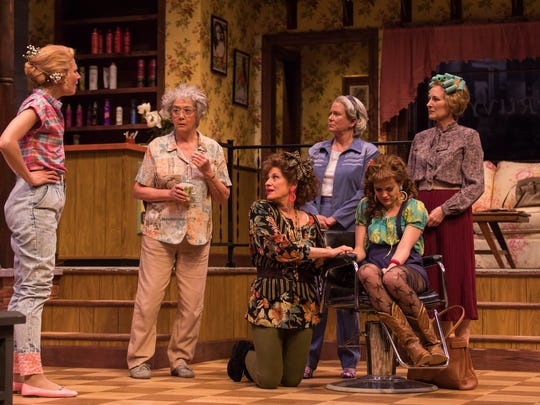 An ensemble of six women play in powerful roles in