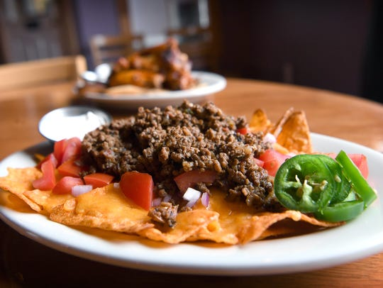 Doritos nachos at The Barrelhouse in North Asheville