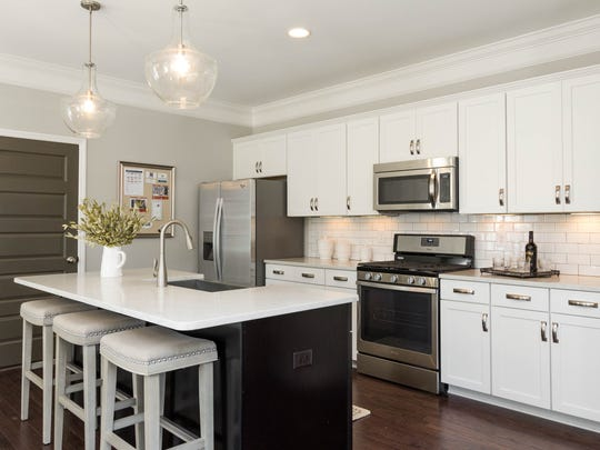At Parkside Builder's design center, home buyers can