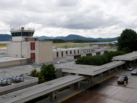 The Asheville Regional Airport on Tuesday, June 12,