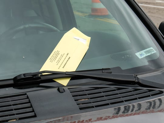 Failing to feed the parking meter might land you a