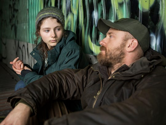 "Thomasin Harcourt McKenzie and Ben Foster star in ""Leave"
