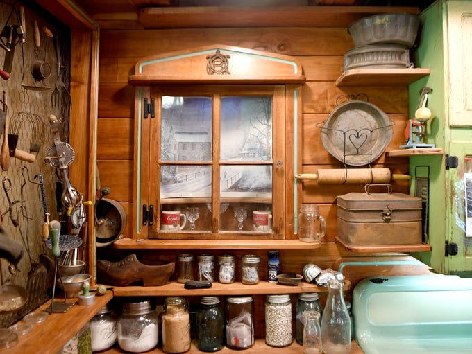 cabin cabinets kitchen home of the week tom hare s county cabin 1903