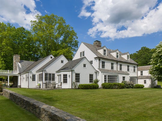 "Benny Goodman, theAmerican jazz clarinetist and bandleader known as the ""King of Swing,"" built this Pound Ridge home in 1940."