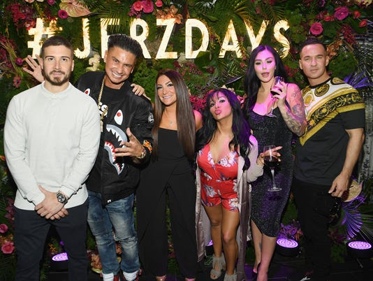 Mtvs Jersey Shore Family Vacation New York Premiere Party