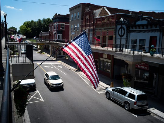 The blue-collar city of Morristown, Tenn., has rallied