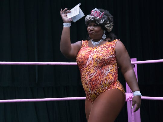 "Kia Stevens as Tamme in ""GLOW."""