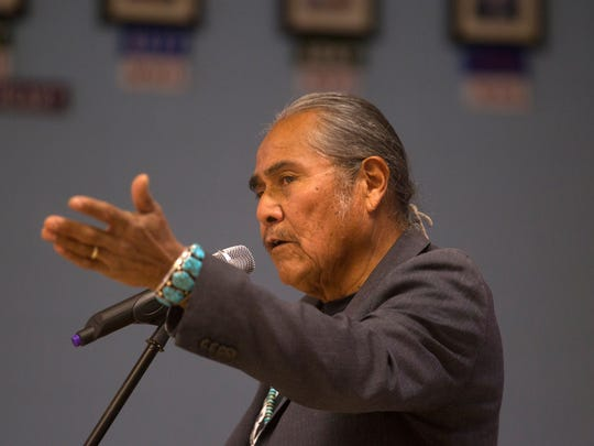 "Shiprock Chapter President Duane ""Chili"" Yazzie was among the signers of a letter delivered to state leaders in Santa Fe on Friday opposing the Energy Transition Act and seeking amendments to it."