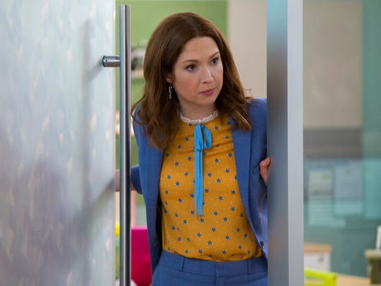 "Ellie Kemper returns in ""The Unbreakable Kimmy Schmidt."""
