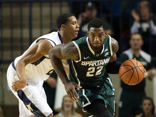 NCAA Basketball: Veterans Classic-Michigan State at Navy