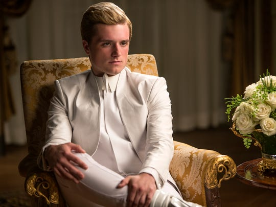 Peeta (Josh Hutcherson) is embroiled in the revolution in 'The Hunger Games: Mockingjay — Part 1.'